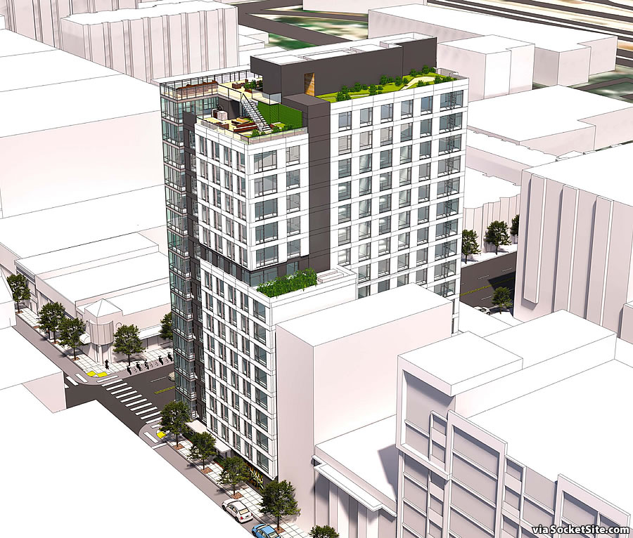 300 5th Street Rendering 2019 Revised - Aerial