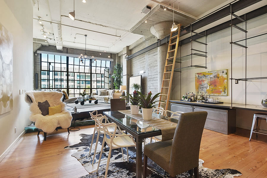 Over Asking, but at a Loss, for a Designer Clocktower Loft