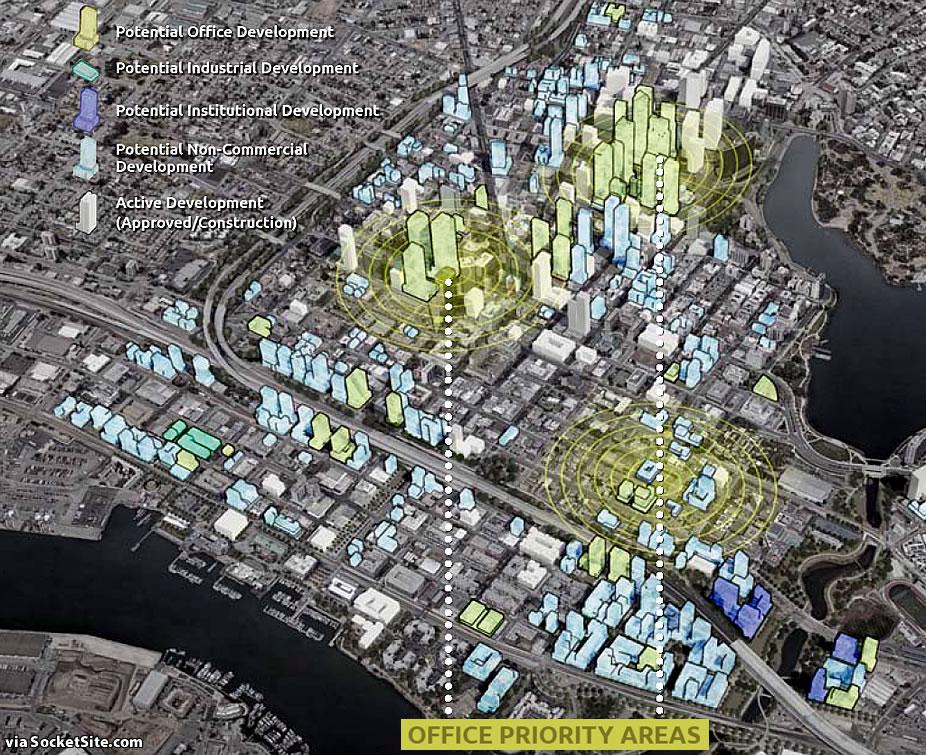 Downtown Oakland Draft Plan - Commercial Development