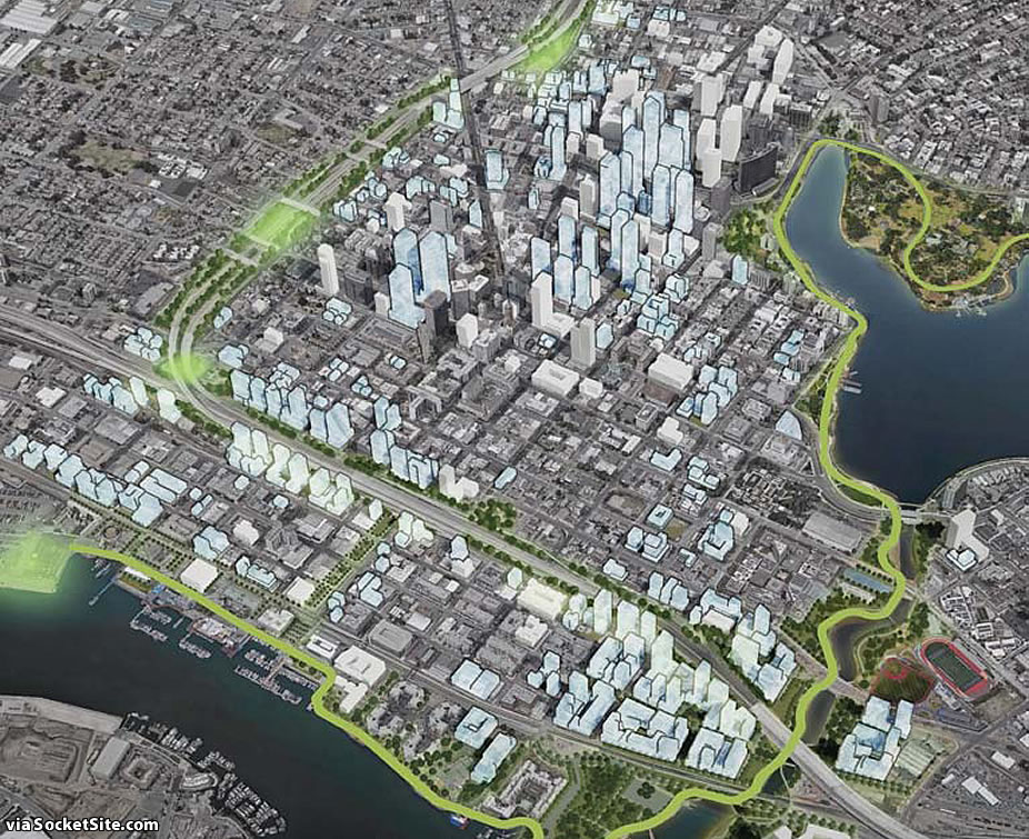 Downtown Oakland Draft Plan - Green