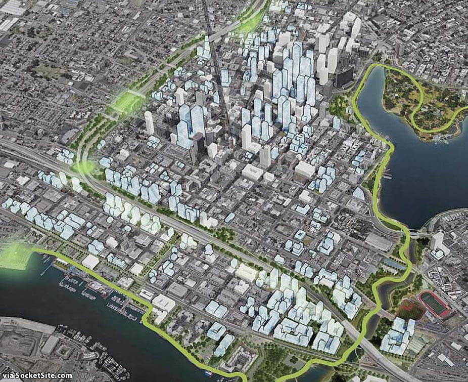Downtown Oakland Draft Plan - Green