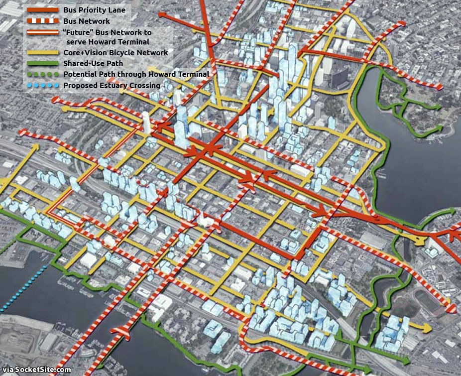 Downtown Oakland Draft Plan - Transit