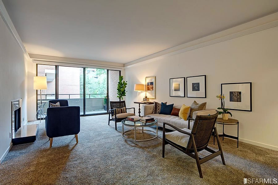 101 Lombard #812W 2016 - Living