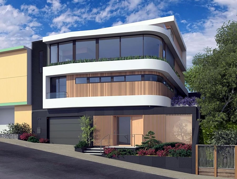 210 Laidley Rendering - Facade