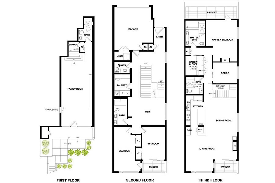 4085 20th Street - Floor Plan