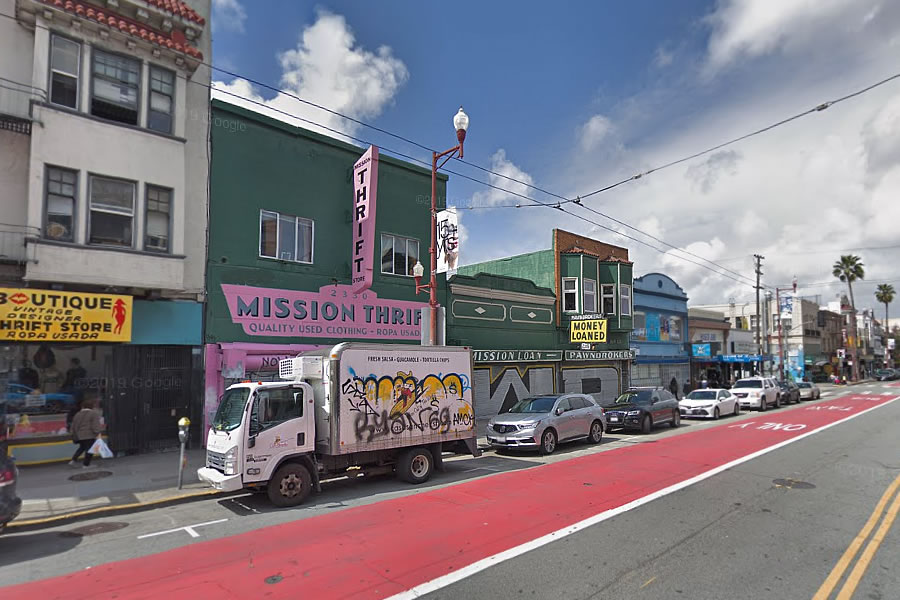 2316-2326 Mission Street Site - Reverse