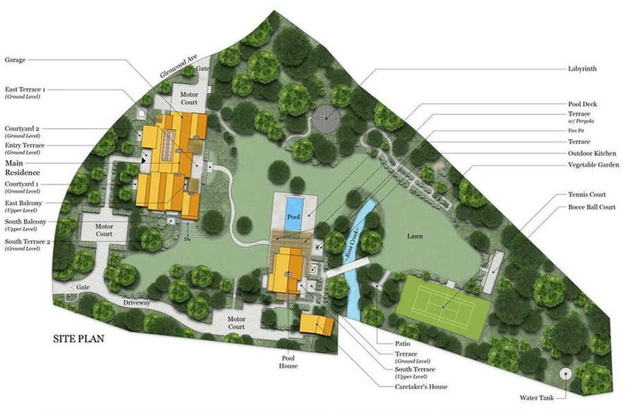 36 Glenwood Avenue Site Plan