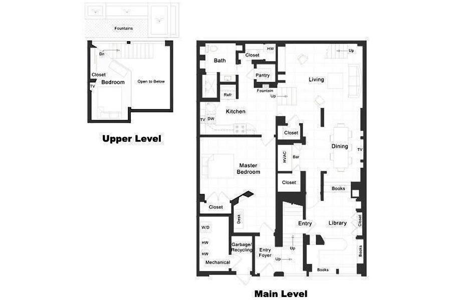 75 Lansing #1 Floor Plan