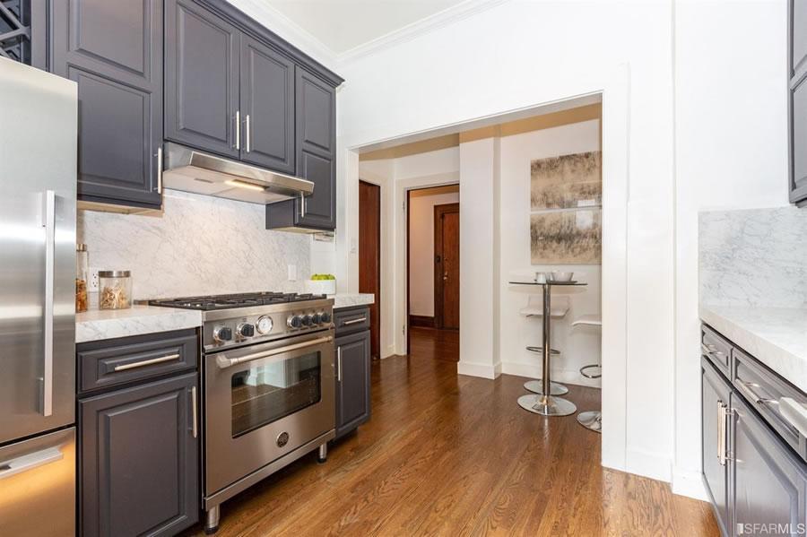 795 Sutter Street #301 - Kitchen Reverse