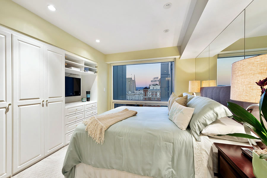 1177 California #1507 Bedroom