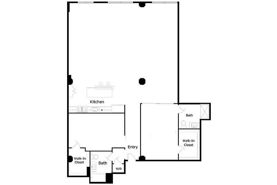 2 Mint Plaza #602 - Floor Plan