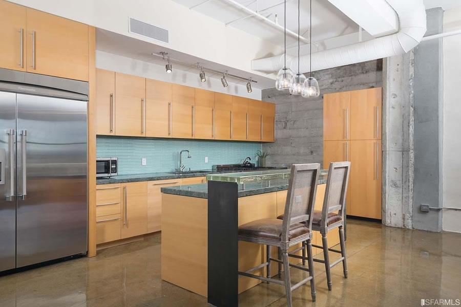 2 Mint Plaza #602 - Kitchen
