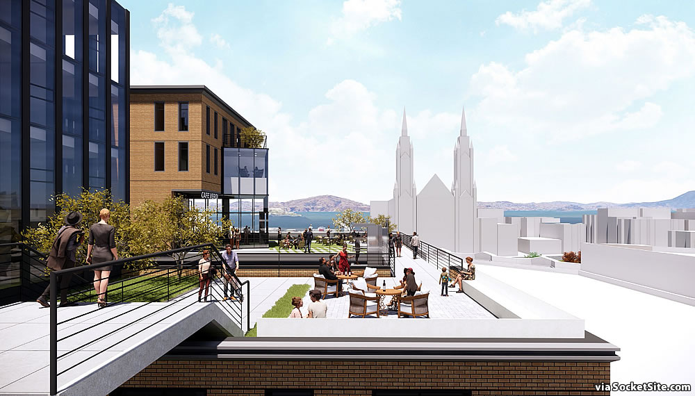 659 Union Street Rendering - Rooftop