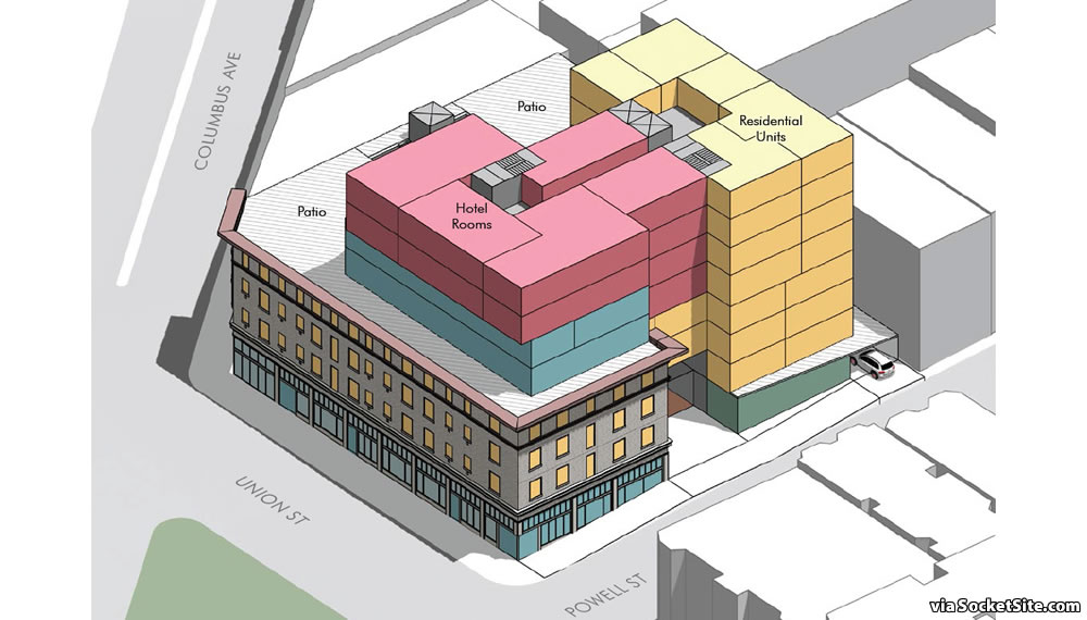 659 Union Street Rendering - SUD Massing