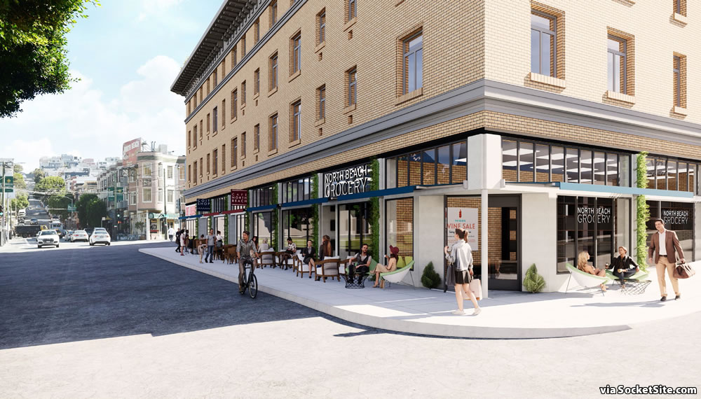 659 Union Street Rendering - retail