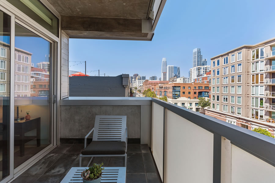 750 Second Street #502 Balcony 2