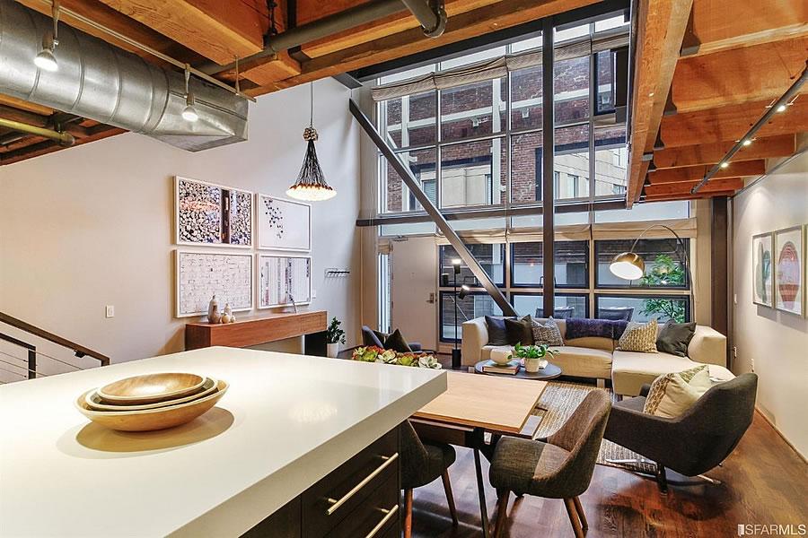 650 Delancey Street #216 - Living