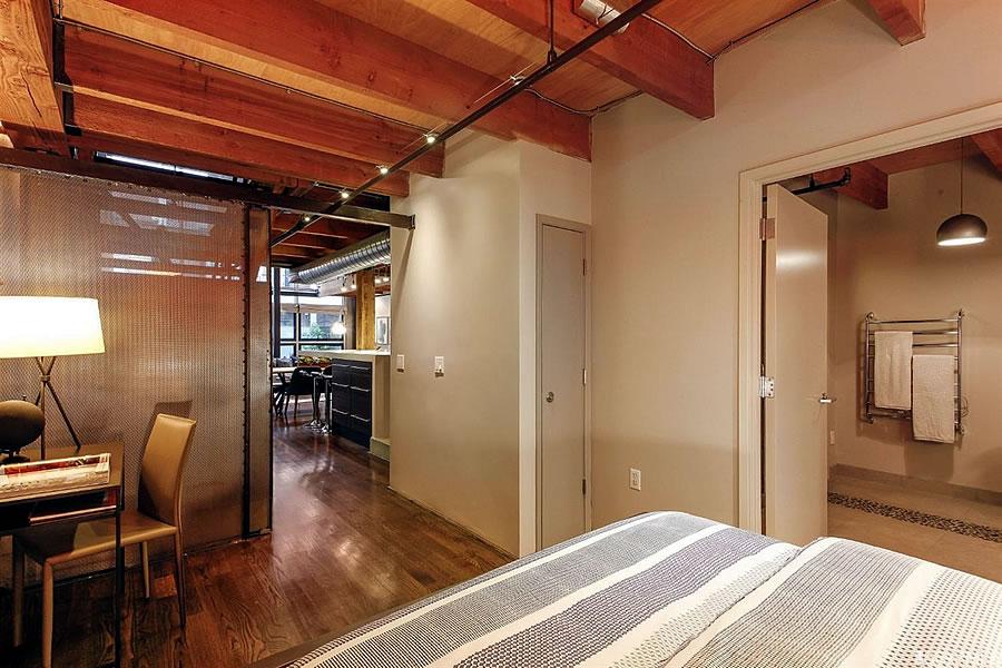 650 Delancey Street #216 - Lower Bedroom Reverse