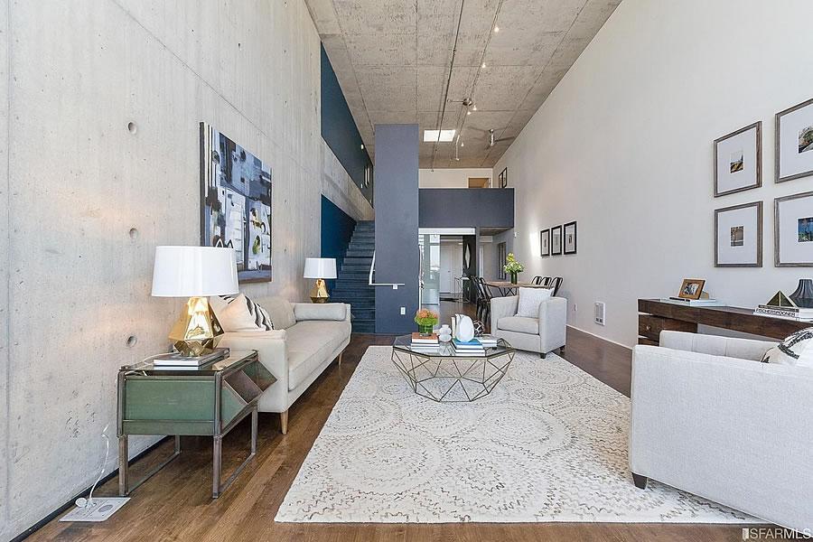 855 Folsom Street #903 Living Reverse