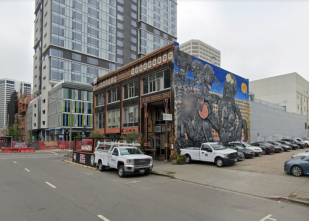 Howden Building Mural