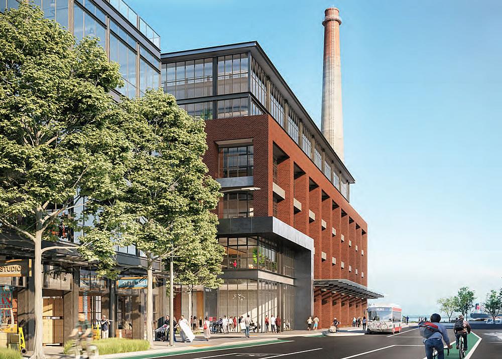 Potrero Power Plant Rendering - 23rd Street
