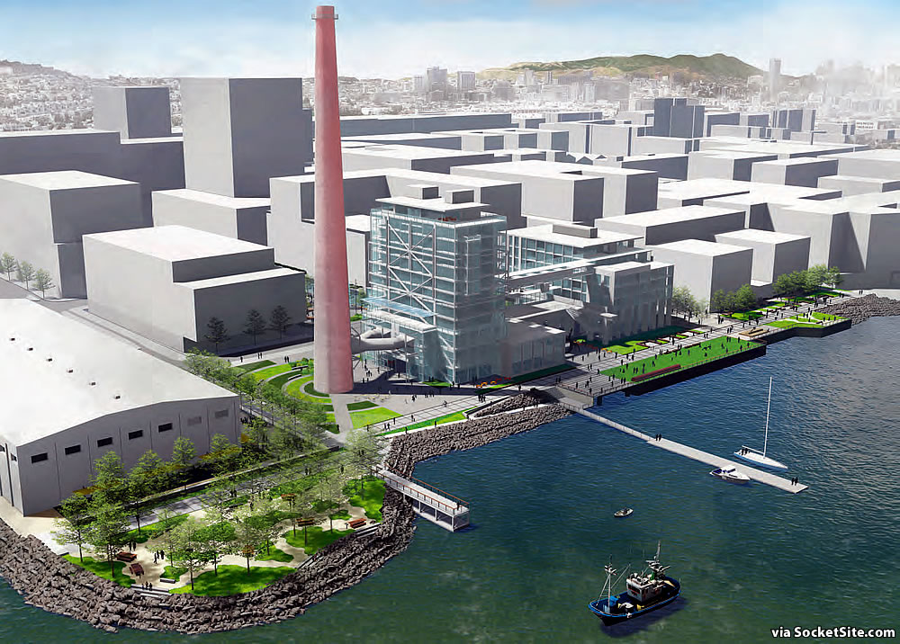 Potrero Power Plant Rendering - Open Space