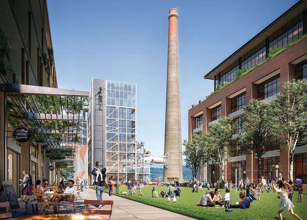Potrero Power Plant Rendering - Power Station Park