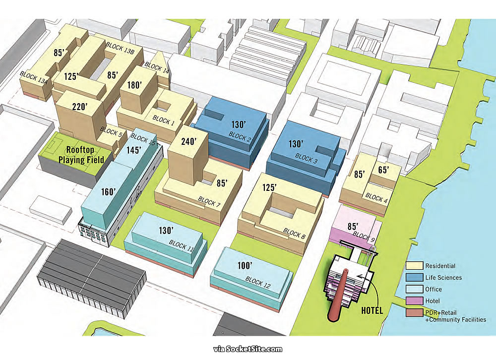 Potrero Power Plant Site Plan
