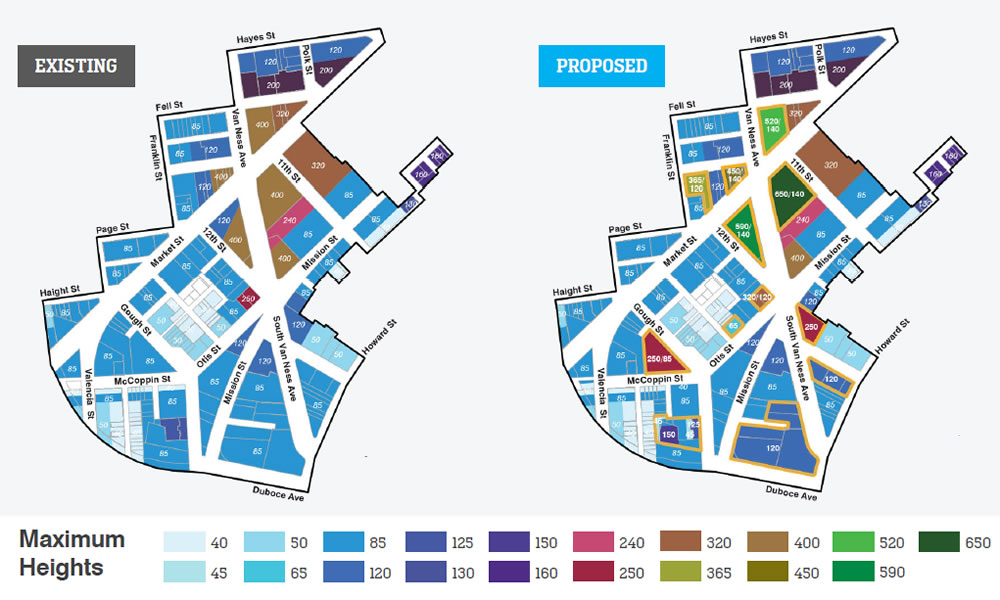 The Hub District Plan 2020 - Heights