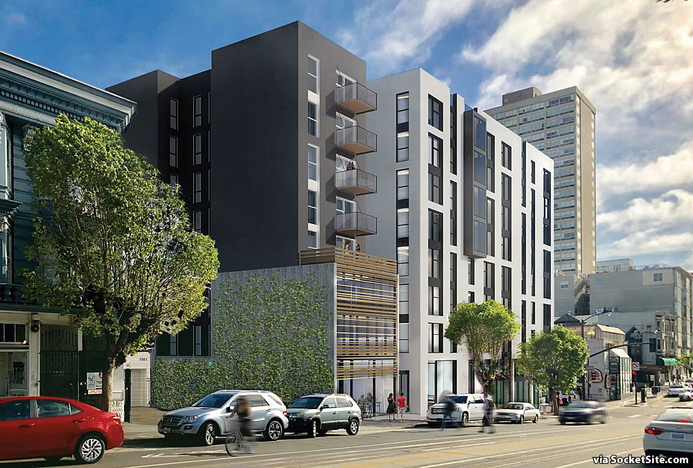 1567 California Street Rendering 2020 - California