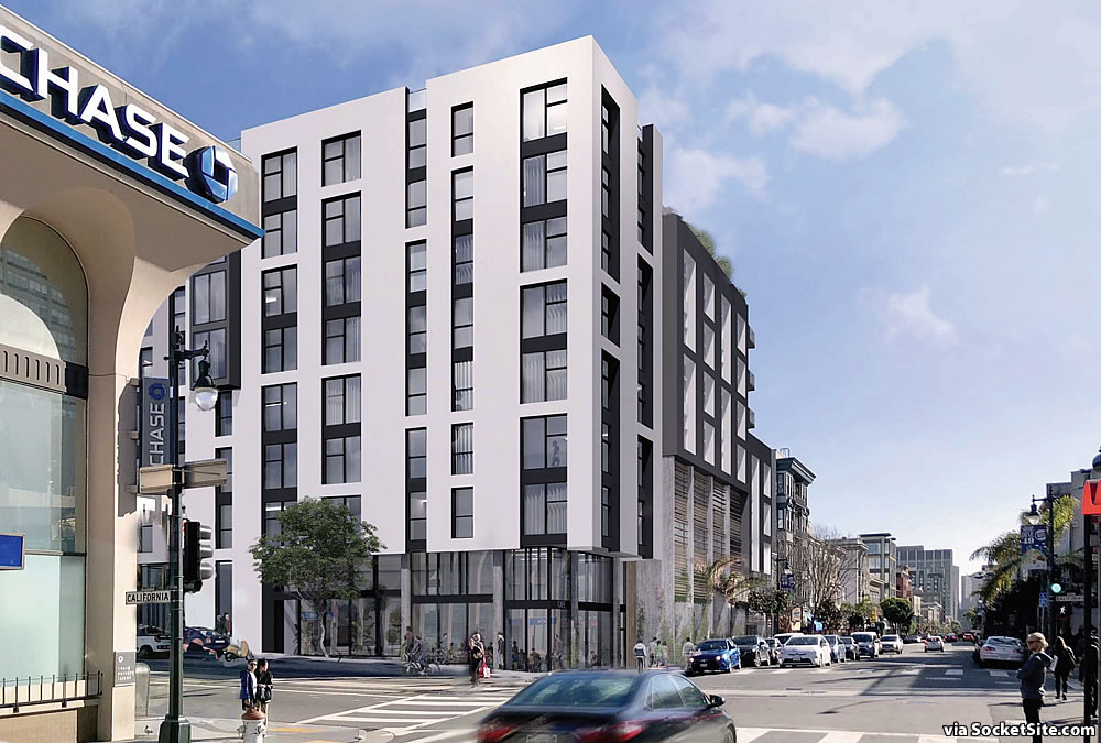 Bonus-Sized Polk Street Project Revised, Nearly Permitted