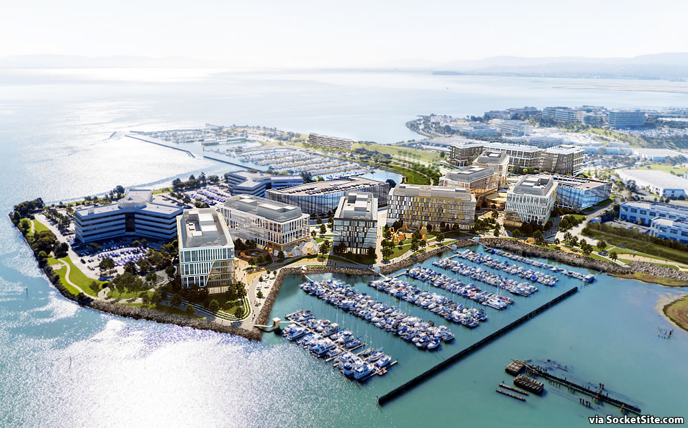 Plan for Massive Oyster Point Redevelopment Closer to Reality