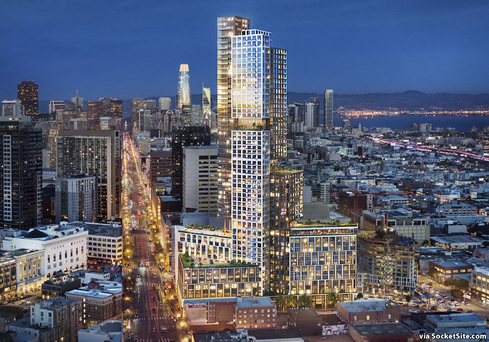 Plans for 966-Unit Hub District Tower Closer to Reality