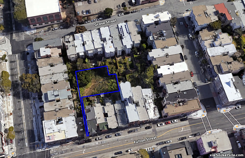 1846 Grove Street / 1821 Fulton Street Site