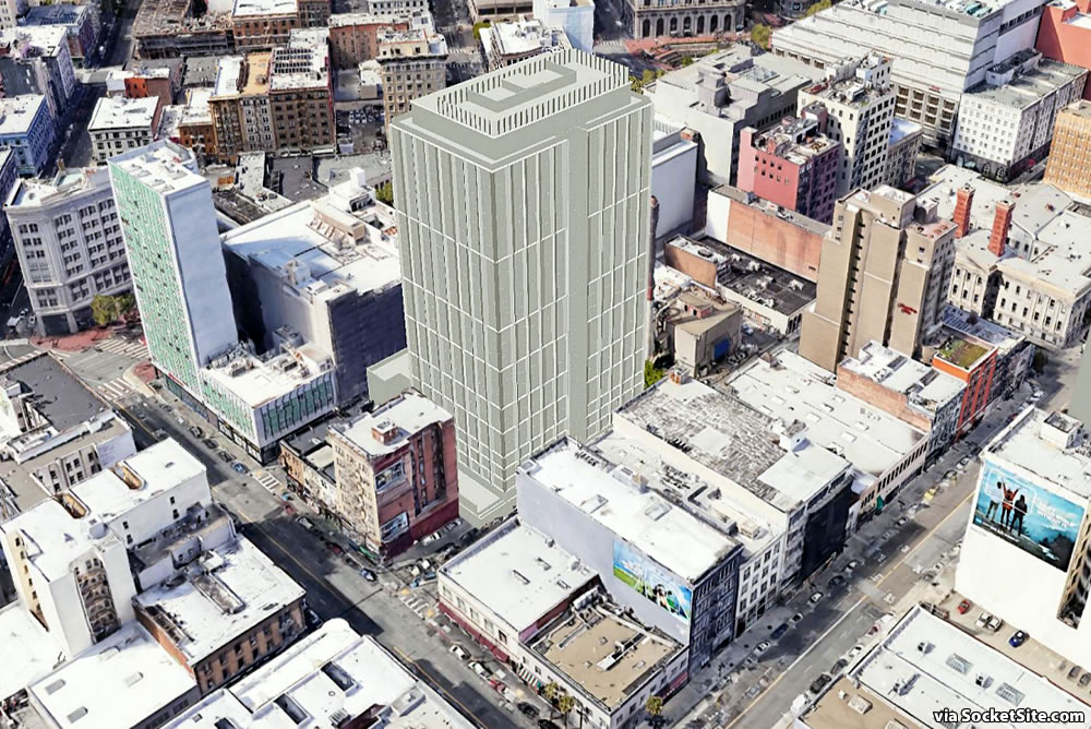 Mid-Market Infill Tower Closer to Being Entitled, But…