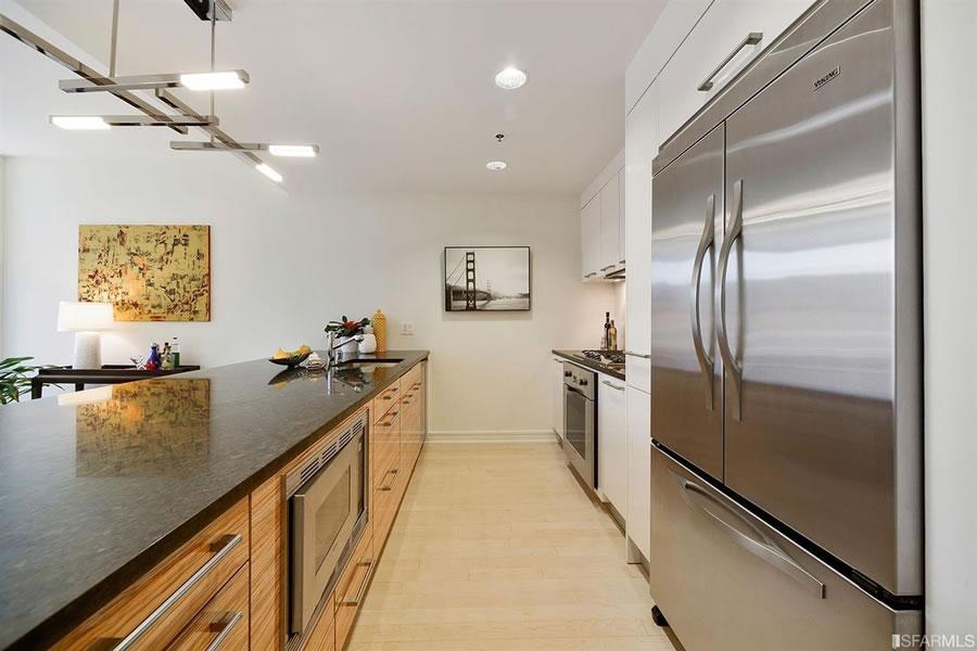 631 Folsom Street #10C Kitchen Detail