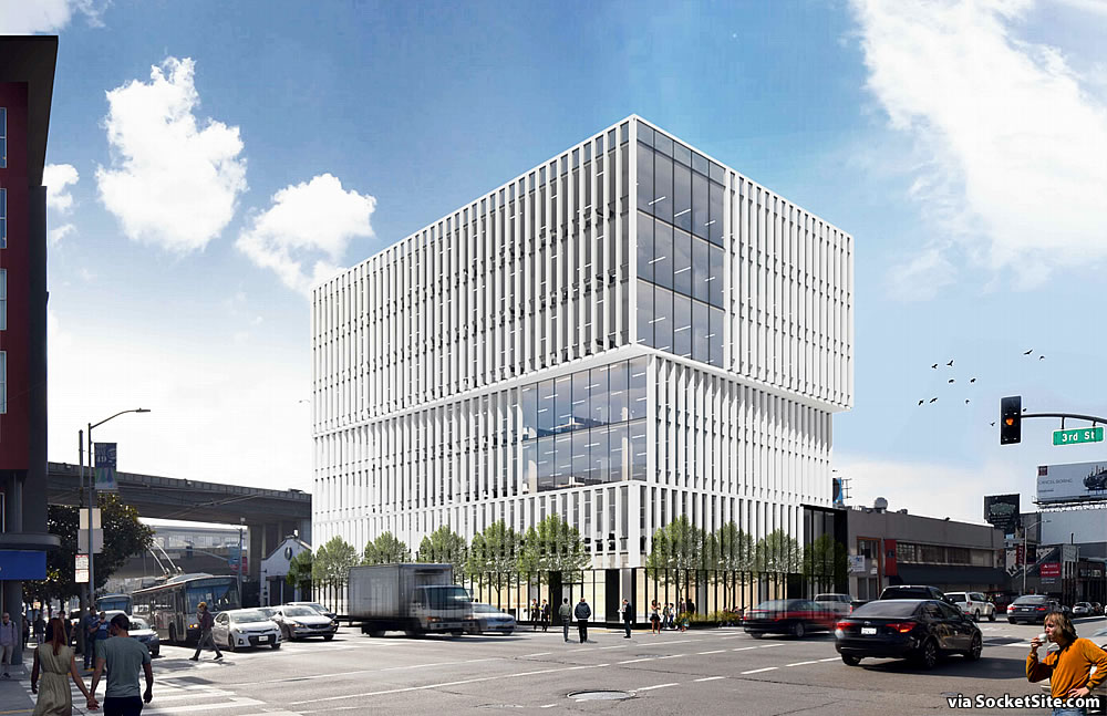 Modern Mixed-Use Infill Project Closer to Reality