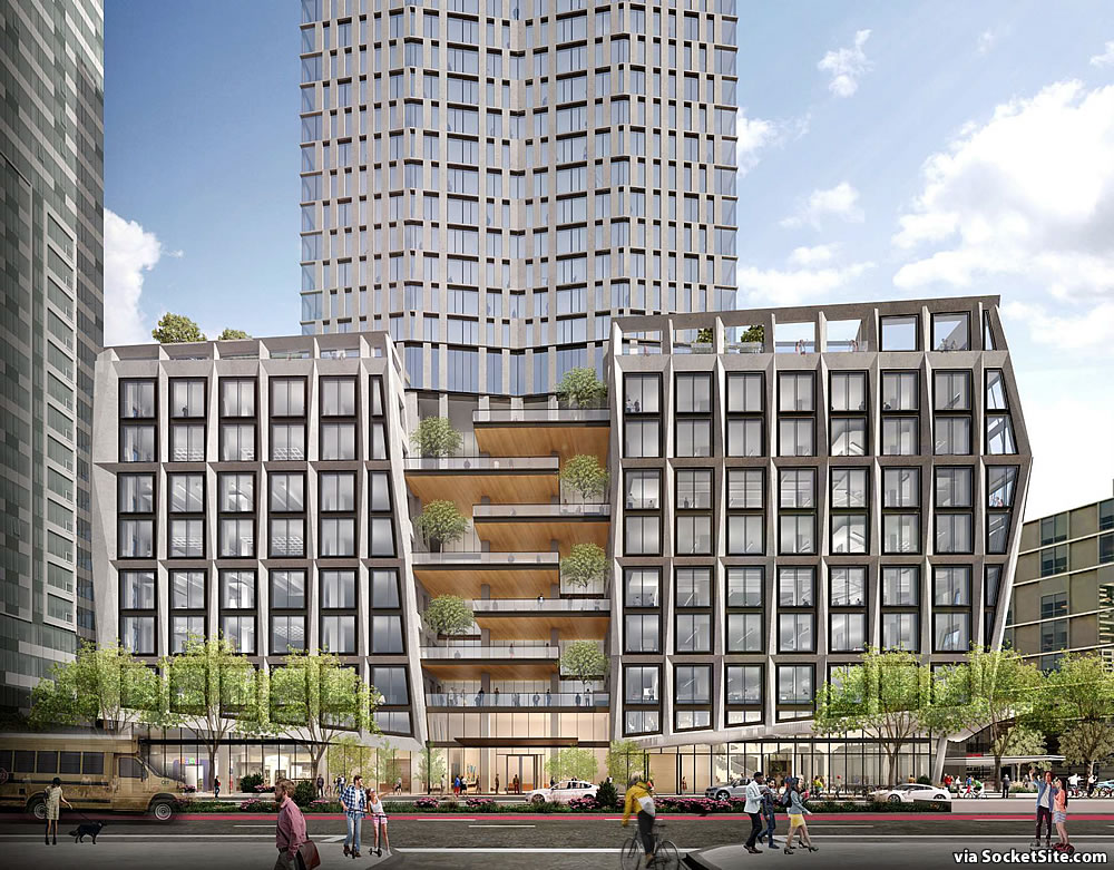 30 Van Ness Rendering 2019 - Podium