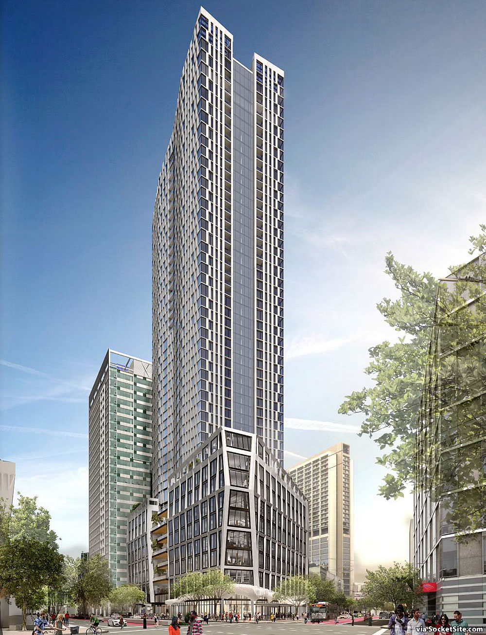 520 Foot Tall Hub Tower Closer To Reality With Fewer Units