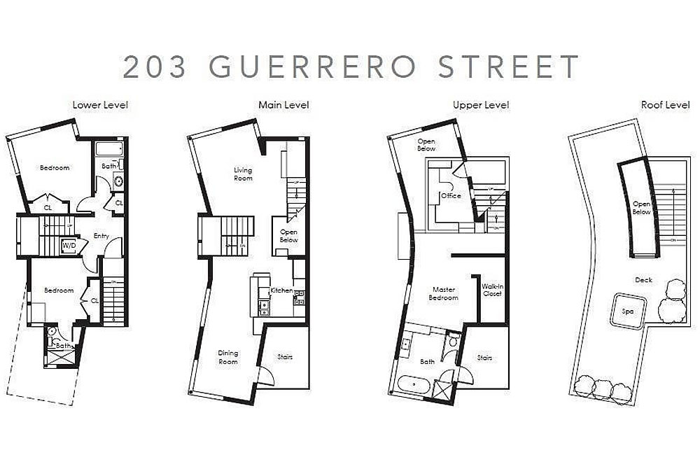 203 Guerrero - Floor Plan