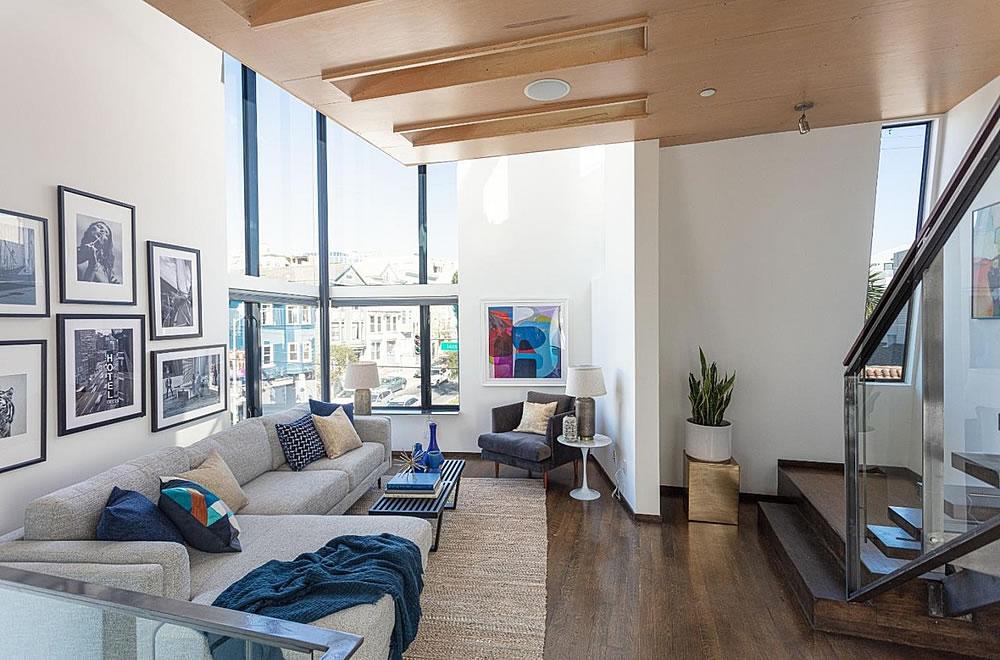 203 Guerrero - Living Room