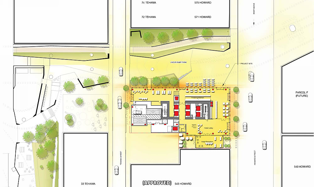 555 Howard Site Plan - Approved