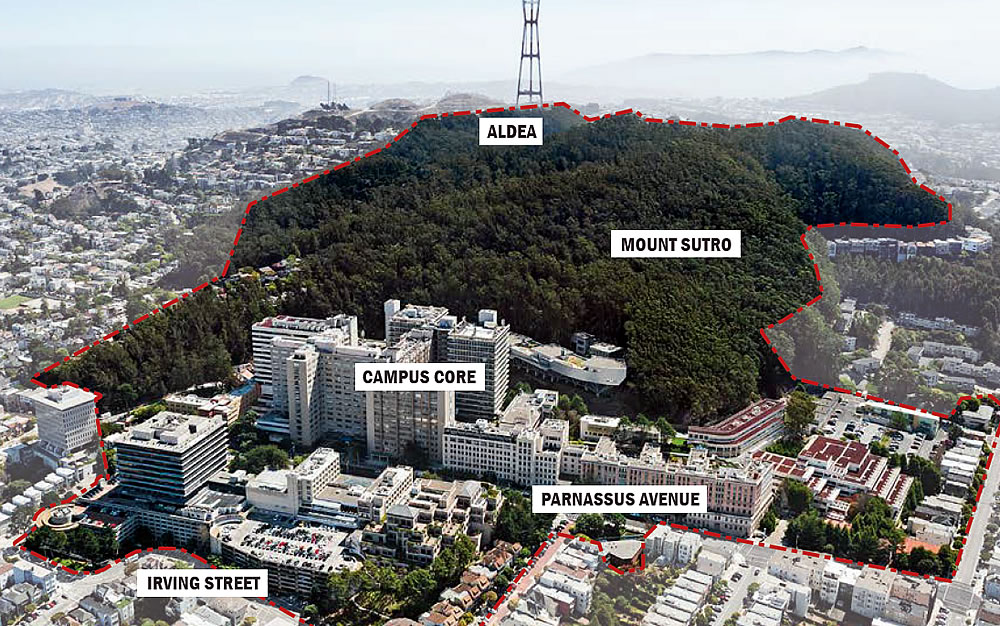 Big(ger) Plans for UCSF's Parnassus Campus Slated for Approval