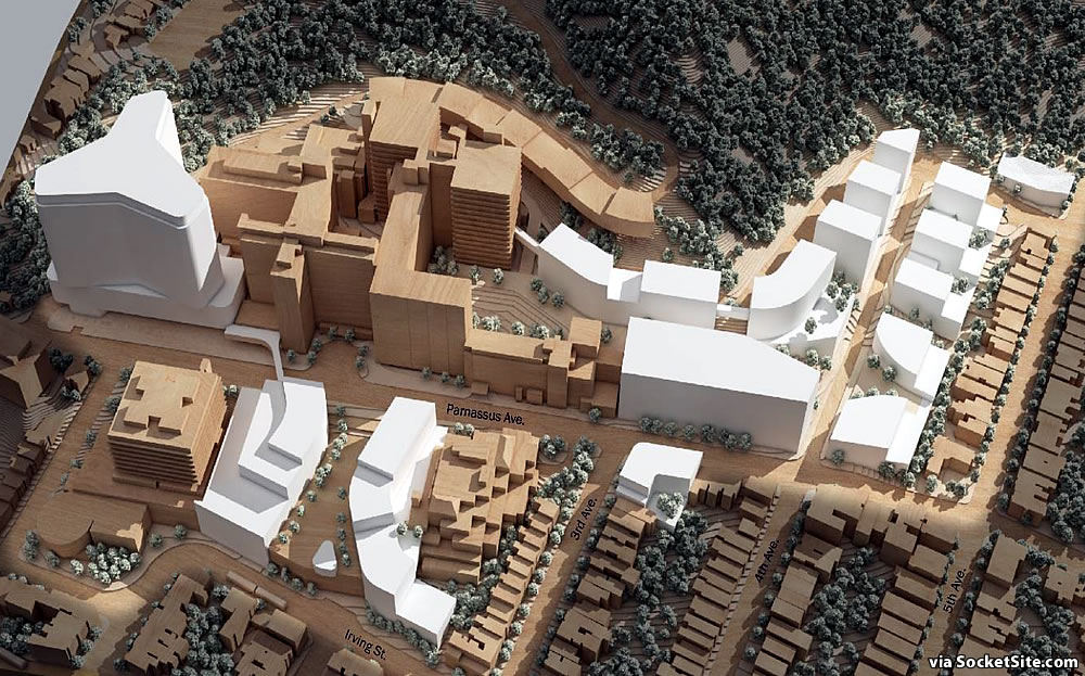 UCSF Parnassus Heights Plan - Massing
