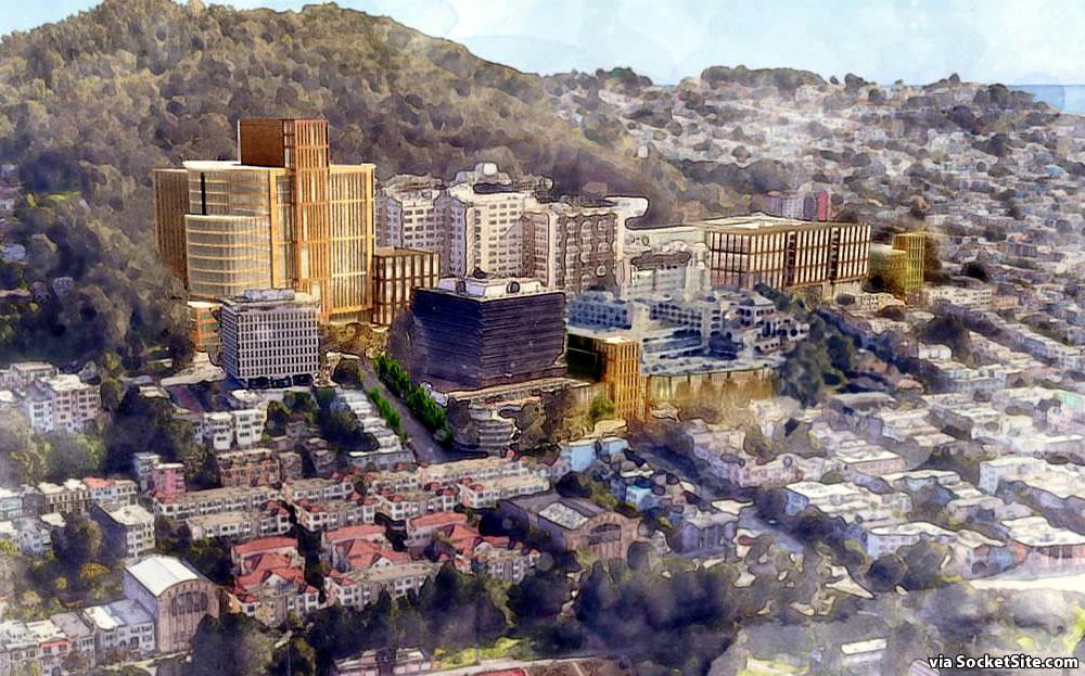UCSF Parnassus Heights Plan - Rendering