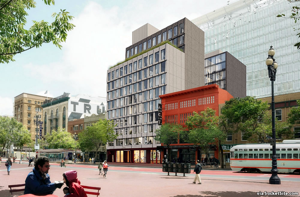 Mid-Market Infill Hotel Slated for Approval, Demand Questioned