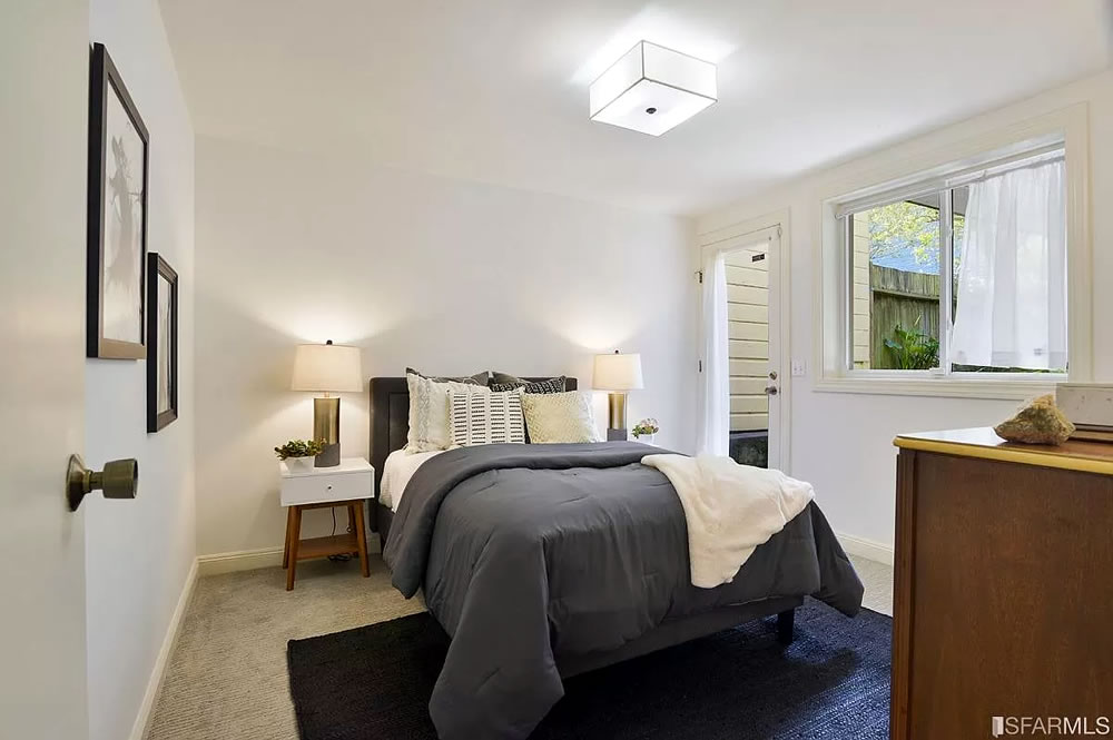 936 Noe Street - Lower Bedroom