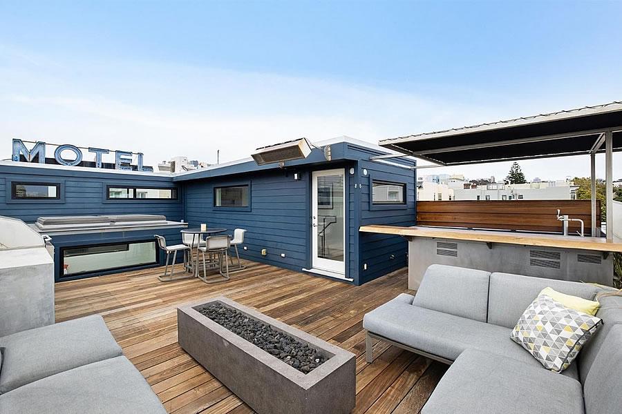 2230 Bush Street 2020 - Rooftop