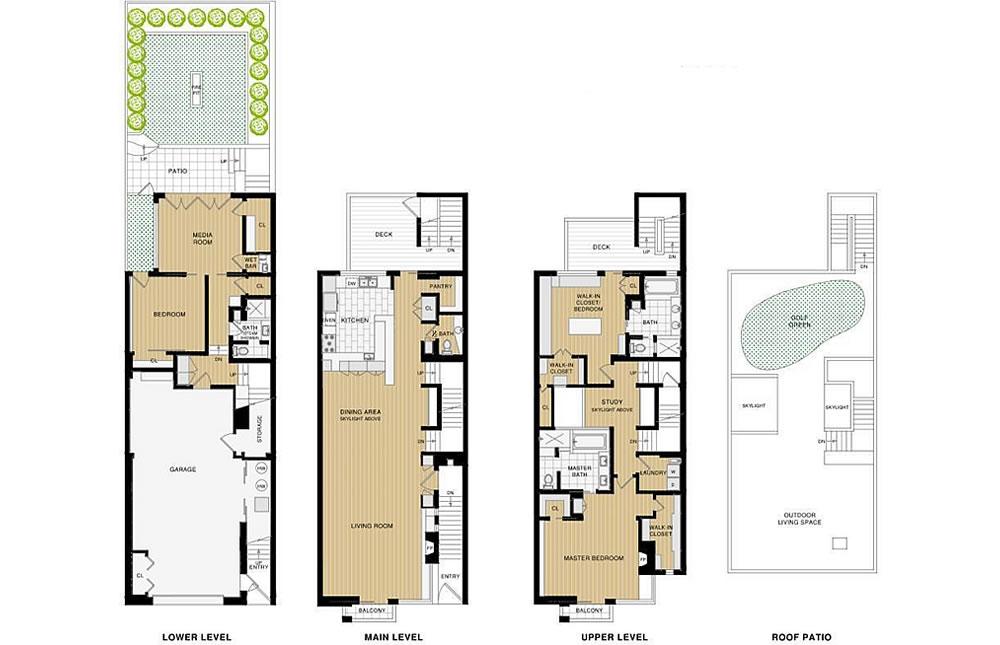 2837 Greenwich Street - Floor Plan