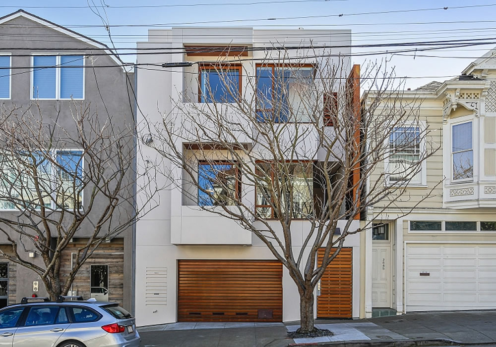 Apples-to-Apples for a Contemporary Cow Hollow Home